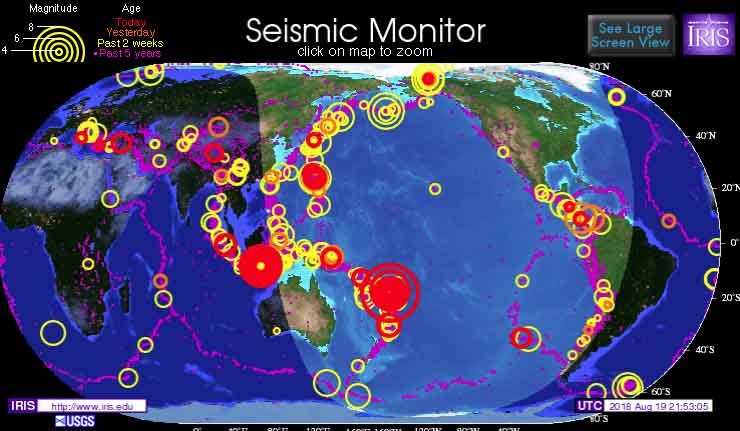 Earthquakes in the News - Crystalinks