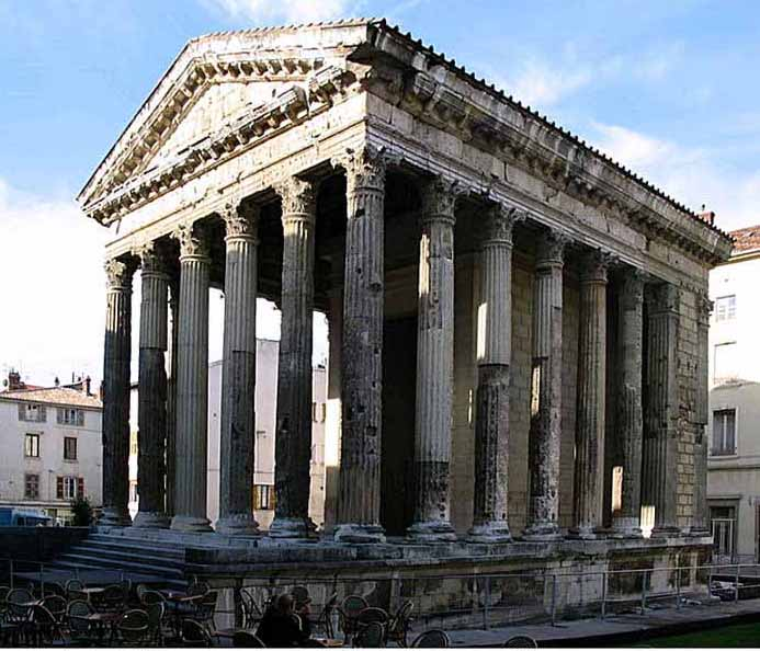 Roman Architecture Buildings ancient roman temples - crystalinks