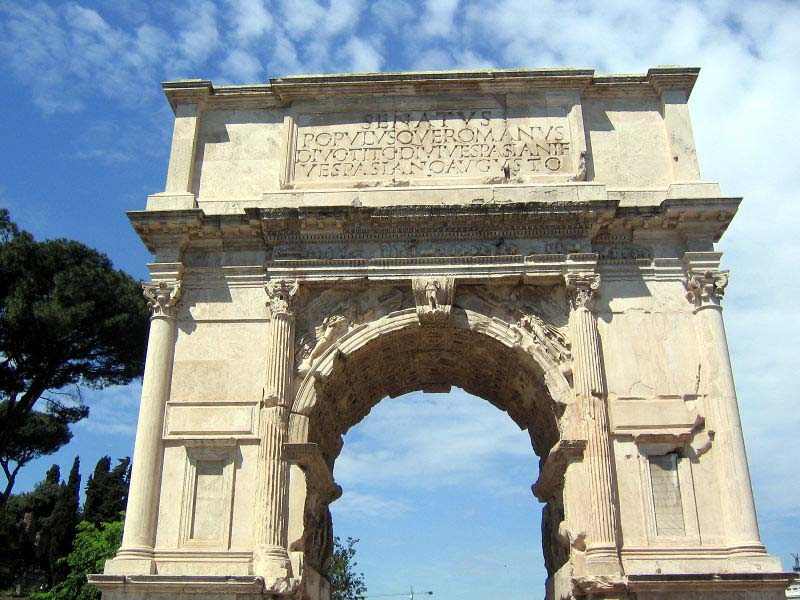 Image result for arches in rome italy