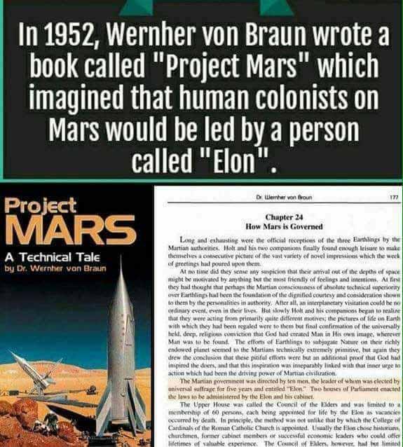 Great Minds: Elon Musk, Wernher von Braun, Arthur C ...