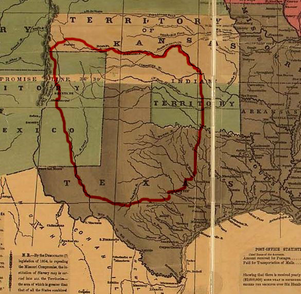 the comancheria is the name commonly given to the region of new mexico ...