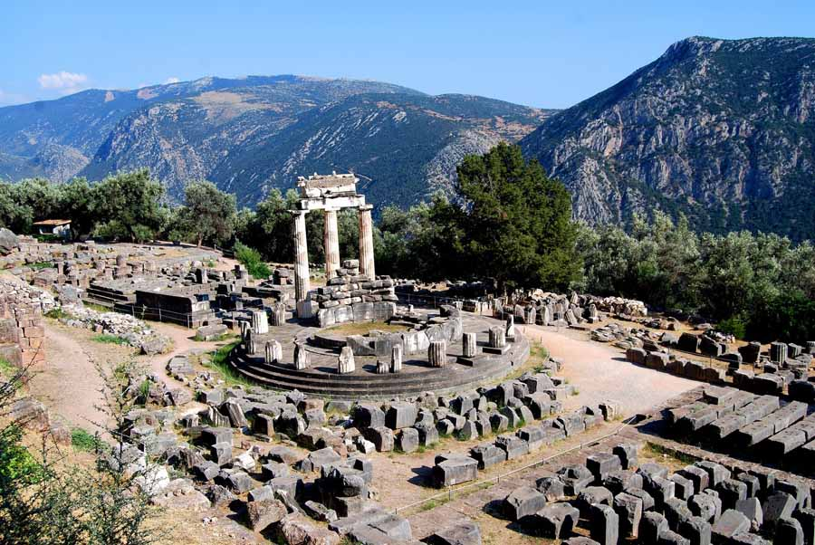 Delphi - Oracle of Delphi - Crystalinks