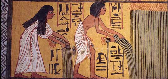 An essay about ancient egyptian and how they lived?