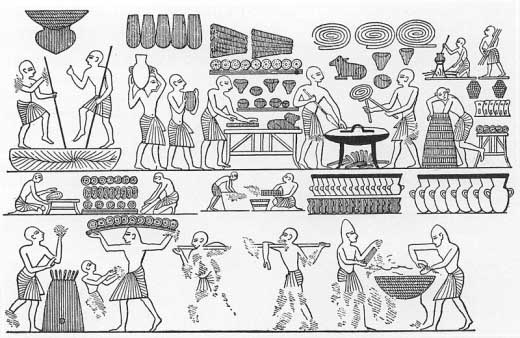 ancient egypt agriculture facts