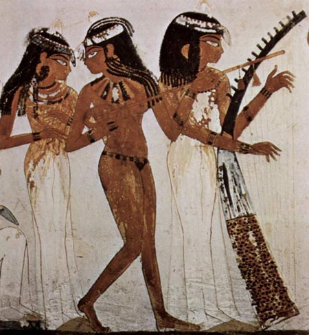 Ancient egyptian music and dance crystalinks