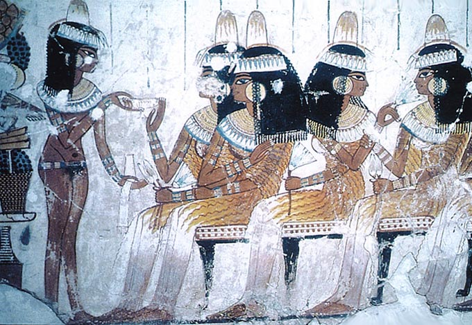 Ancient Egyptian Fabrics and Clothing - Crystalinks
