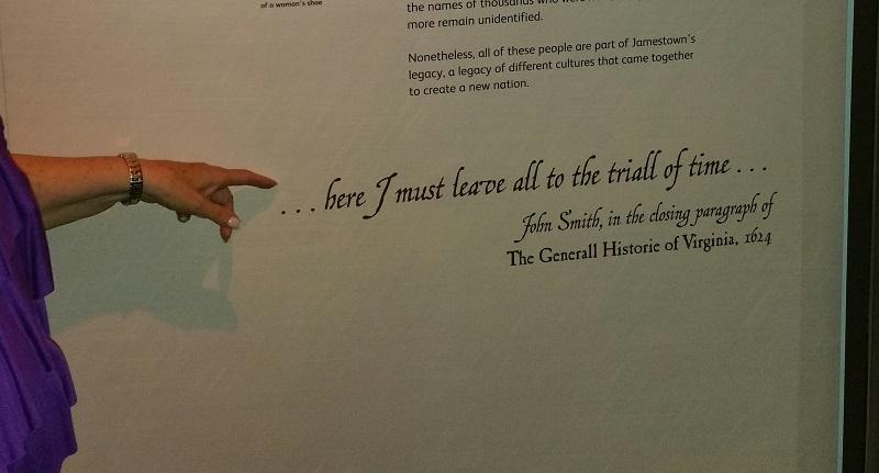John Smith Jamestown Quotes: Ellie's Adventures In Williamsburg, Virginia