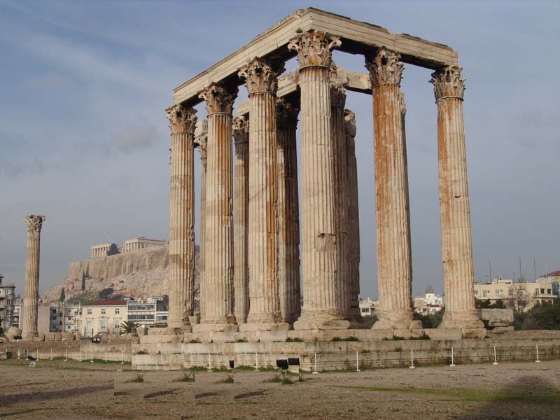 Ancient Greek Buildings And