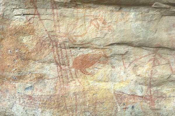 Australian Petroglyphs Wondjina Crystalinks