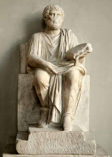 Um poeta da Antiguidade