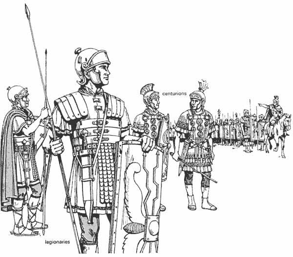 ancient roman military army crystalinks