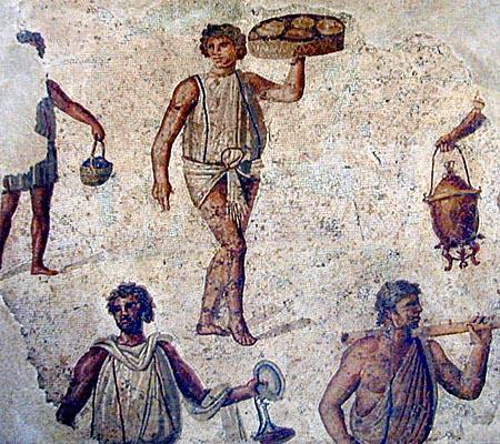 Image result for ancient roman raisin bun