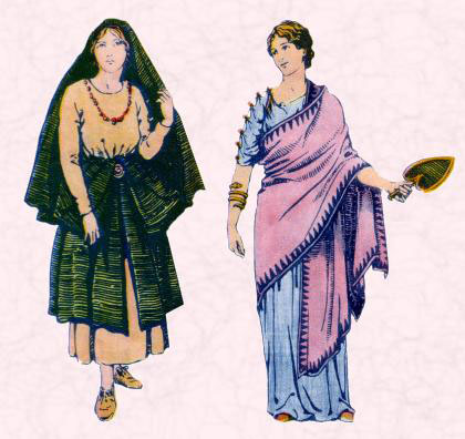 What did women wear in ancient israel?