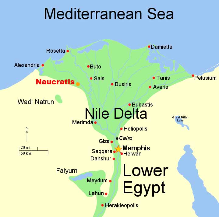 Twenty First Dynasty Of Egypt - Map of egypt upper and lower