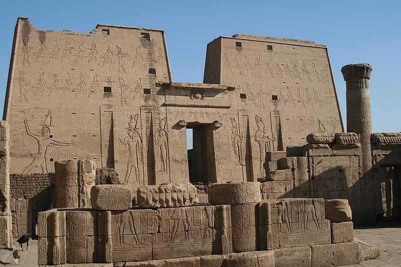 temple of horus at edfu   crystalinks