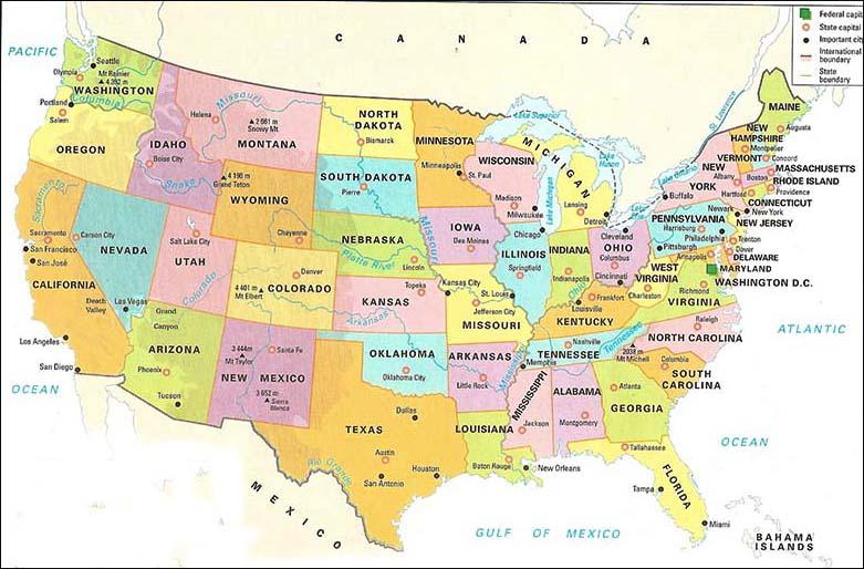 Yellowstone Map Us Globalinterco - Yellowstone park on us map