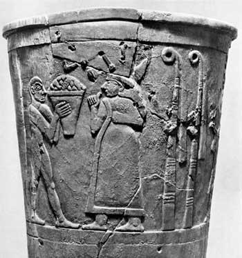 warka vase art history
