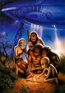 Ancient Astronauts Alienscavemen