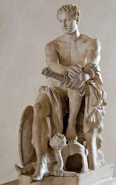 Greek God of War Statue Ares Was The Greek God of War