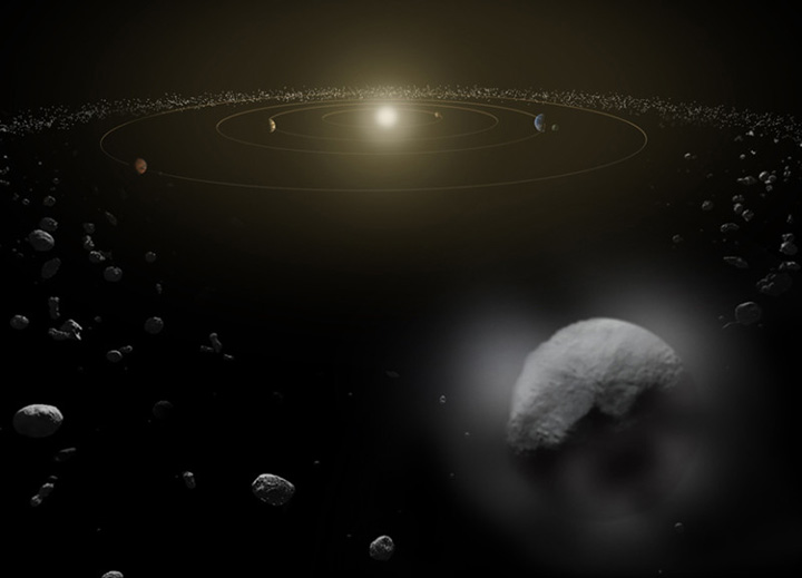 Asteroid Belt, Ceres - Crystalinks