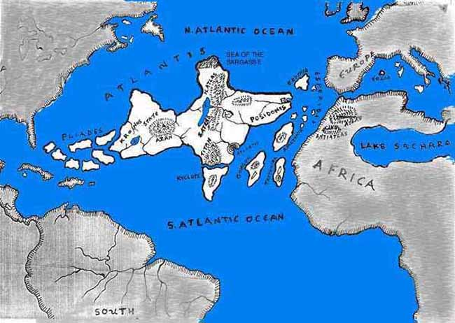 Atlantis Location Hypothesis Crystalinks