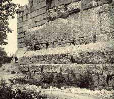 Events Before the Deluge Baalbek