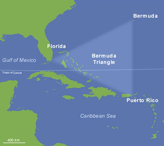 The Bermuda Triangle Columbus Devils Triangle Columbus Famous