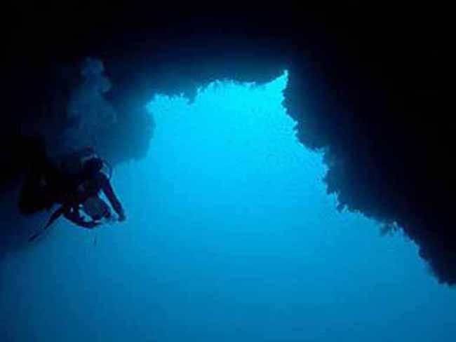 Sinkholes, Blue Holes - Crystalinks