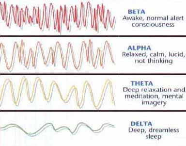 Image result for theta brain waves