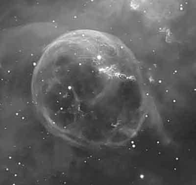 Nebulae Bubblenebulabw06