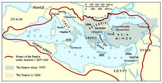 Byzantine Empire - Crystalinks on