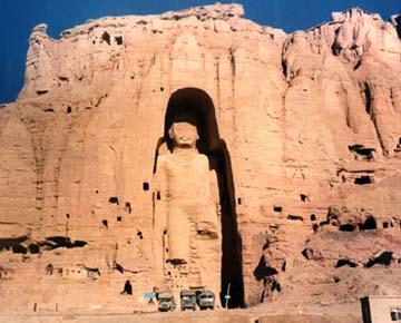 at bamyan in afghanistan predating european oil