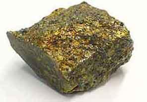 استعمالات حجر كلكوبيريت Chalcopyrite