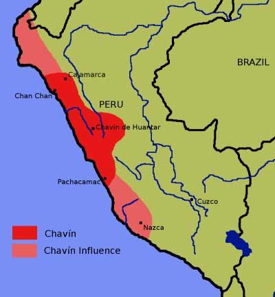 Chan Chan Peru Map.Chavin De Huantar Chan Chan Crystalinks