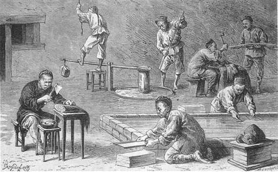 the early history of papermaking in china So, what are the origins of the invention of papermaking that changed  the  origins of standardised, mass-produced paper to china in 105 ad.