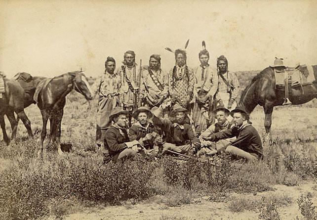 Native American Indians Crow Tribe Symbols