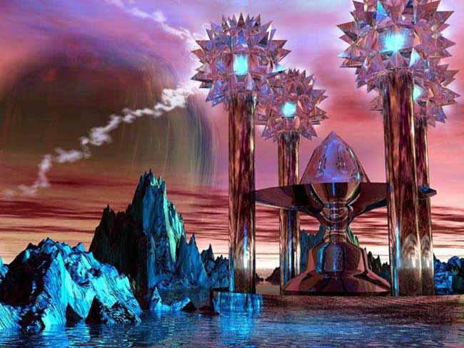 Atlantis ~ Thule, Solar Storms, Northern Lights, 2012