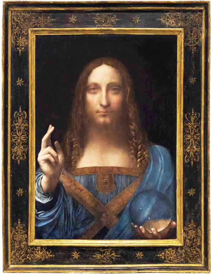 Vinci Salvator Mundi 450m >> Art, Vincent van Gogh, Ellie Visits MoMA, Channeling - Crystalinks