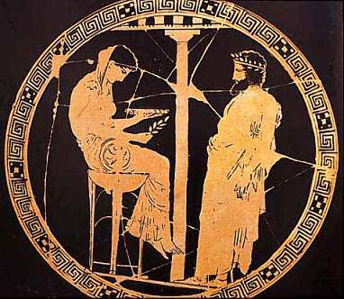 pythia and athens greece In central athens, greece, with inscriptions calling upon apollo, the greek god  of  at delphi, a pythia or priestess , first young virgins and later crones, would.
