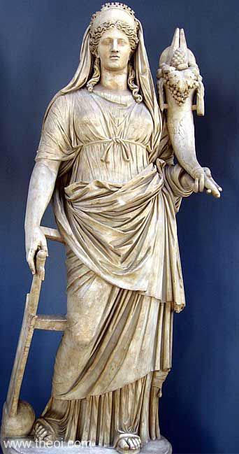 Statua di Demetra