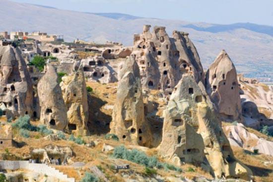 Underground Cities: Turkey, Derinkuyu, Kaymakli - Crystalinks