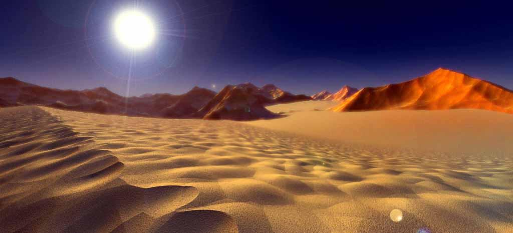 Deserts Sahara Atacama Taklamakan Crystalinks - A hot desert