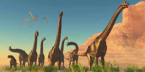 Dinosaurs in the news