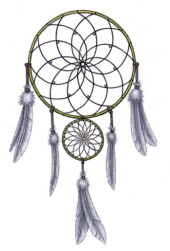 What Do The Beads Mean On A Dream Catcher Dreamcatcher Crystalinks 28