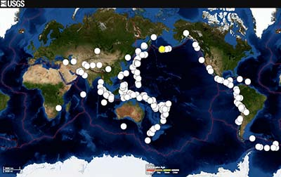 Earthquakes in the news crystalinks big earthquakes double in 2014 but theyre not linked live science june 28 2014 gumiabroncs Image collections