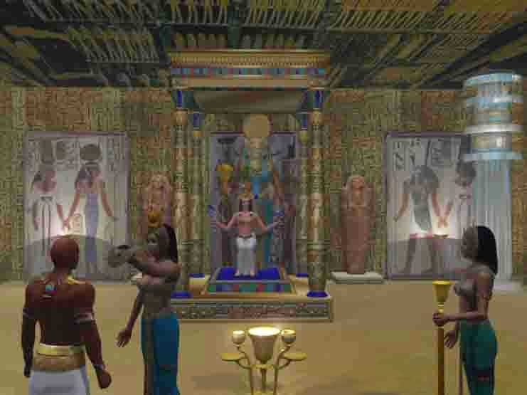 TEMPLE RITUAL OF THE ANCIENT EGYPTIAN MYSTERIES