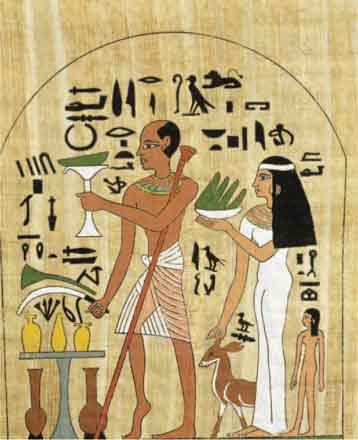 a look at ancient egyptian art of using mummies and making coffins Animal mummies displayed at  who is depicted in ancient egyptian art as a  he's certain that the co-worker is badmouthing him to the boss and making him look.