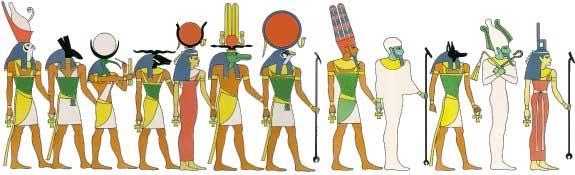 Egyptian Gods And Goddesses Index Crystalinks