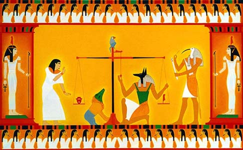 the burial customs and beliefs of ancient egyptians Ancient egyptian religion was a complex system of polytheistic beliefs and rituals which were an  the egyptians had elaborate beliefs about death and the.
