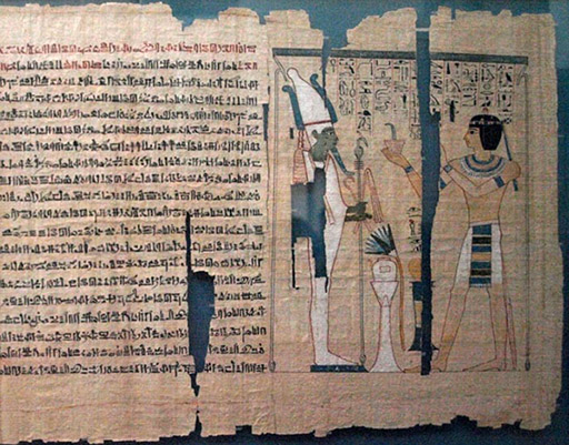 Light Egyptian Papyrus   Tangible Things Museum in a Drawer                                                                                           Term paper on egypt